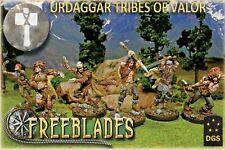 DGS GAMES - FREEBLADES: URDAGGAR TRIBES OF VALOR STARTER BOX - FANTASY WARGAME