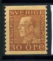 Sweden 1921 Mi. 188 MH 100% King Gustaf V