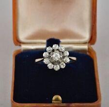 14 Carat White Gold Diamond Ring Art Deco Fine Jewellery