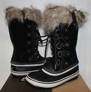Sorel Women's Joan of Arctic waterproof boots Black / Stone New!