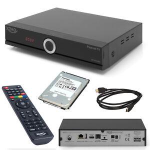 Kabel Receiver Digital HD DVB-C TWIN Tuner +1TB Festplatte TV Aufnahme Xoro 8772