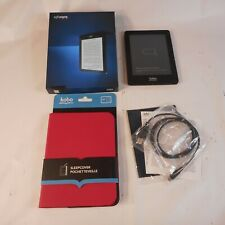 Kobo Glo eReader - N613-KBO-U w/ Case Bundle