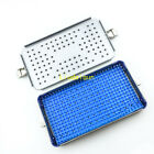 sterilization tray case Aluminium Alloy Surgical instrument WITH Silicone mat