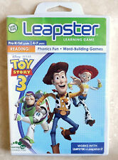 Leap Frog Leapster Disney Pixar TOY STORY 3 Game Cartridge Software- New