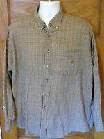 EUC Duck Head Multicolor Check 100% Cotton Long Sleeve Shirt XL Free Shipping!