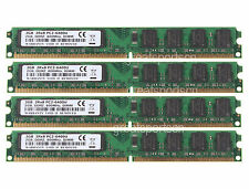 4X 2GB NEW 8GB 2RX8 PC2-6400 DDR2 Dekstop 800MHz Non-ECC 240pin DIMM Memory ram