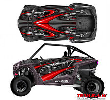 2015+ Polaris RZR 900 Jet 3 Design Graphic Kit Wraps UTV Turbo Scoop 2door