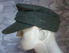 WWII WW2 GERMAN WH EM M43 PANZER WOOL FIELD MEN'S HAT CAP M