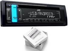 JVC KD-R491 1 DIN Auto Radio mit CD USB für Volkswagen VW Golf IV 1997-2003