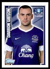 Topps Premier League 2013 - Darron Gibson Everton No. 61
