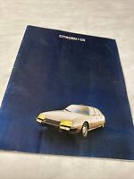 Citroën CX 1977 catalogue prospectus brochure publicité