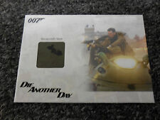 James Bond Archives 2014 Edition - Hovercraft Seat Relic # 126/500 JBR37 Variant