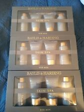3 Baylis & Harding Men's 4pc Sandlewood Gift Sets