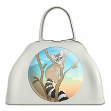 Ring-tailed Cat White Metal Cowbell Cow Bell Instrument
