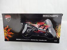MINICHAMPS 1/12 VALENTINO ROSSI DUCATI DESMOSEDICI GP 11 SHOWBIKE 2011 MOTO GP