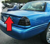 UNPAINTED NEW FOR FORD CROWN VICTORIA Marauder Style Rear Spoiler Wing 1998-2008