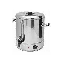 Glühweinkocher aus Edelstahl 30 l Wasserkocher Teekocher Thermobehälter 3000 W