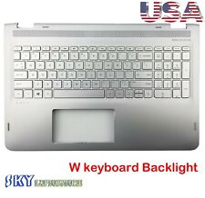 Brand New Genuine HP ENVY X360 M6-AQ Palmrest Keyboard W/ Backlit 857283-001 USA