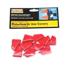 CRAFTSMAN ROBOGRIP Pliers Jaw Covers 10 pc Set 9 Inch Red USA 45449