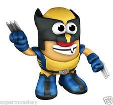 PLAYSKOOL MR.POTATO HEAD X-MEN WOLVERINE MARVEL DC COMICS SUPER HERO FIGURE