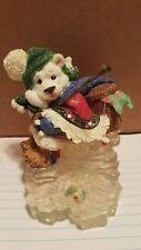 "Enesco Polar Kins ""Dreams Do Come True""(Bear Ice Fishing Figurine)"