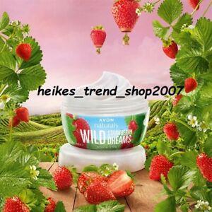 AVON Naturals Erdbeer - Joghurt Körperbutter 200 ml BrandNEU