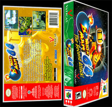 Bomberman 64 The Second Attack - N64 Reproduction Art Case/Box No Game.