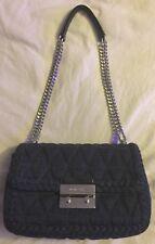b20b4ddb737e Handbags-AUTHENTIC-Michael-Kors-Large-Sloan-Indigo-Chain-