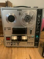 Sony TC-630 Stereo Reel-to-Reel Tape Recorder With Original Attachable Speakers
