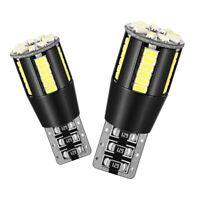 194 Led Light Bulb 6000K White Super Bright 168 2825 W5W T10 Wedge 39-Smd 3 I7H2