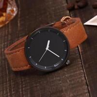 New Fashion Women's Unisex Watch Leather Band Alloy Quartz Analog Wrist Watches