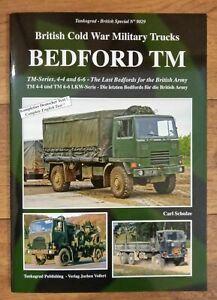 Tankograd British Special 9029 Bedford TM Cold War Trucks Book Carl Schulze army