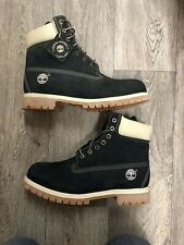 Timberland 6Inch Boots Shoes 27054 Navy Blue/Black UK 9.5 BNIB