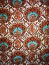 NEW Pottery Barn Sabrina Velvet Standard Pillow Sham Floral Medallion Red Blue