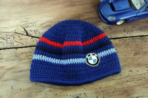 Baby bmw logo hat, Boy cute hat, Knitted baby clothes, Dads girl hat