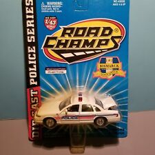 ROAD CHAMPS (43035) 1:43 SCALE DIECAST METAL BISMARCK ND POLICE CAR