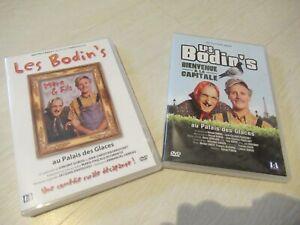 """2 DVD Les Bodin's:""""Bienvenue à la capitale"""" et """"Ai palais des glaces"""""""