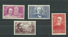 FRANCE 1939 UNEMPLOYED FUND SET FRESH MNH**