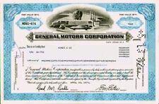 General Motors Corp. Delaware hist. Auto Aktie 1973 USA Cadillac Buick Opel GM