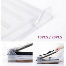 10/20Pcs Reusable Household Fast Magical Clothes Fold Board Folder Closet Drawer