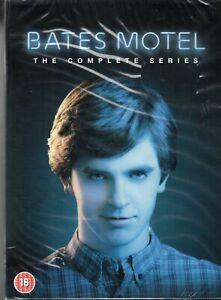 Bates Motel Complete Series DVD - Freddie Highmore - New & Sealed - Region 2