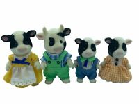 Calico Critters Sylvanian Families Buttercup Cow Family HTF RARE COWS