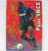 "CALCIATORI PANINI ""CALCIO 97 CARDS"" - PAUL INCE dell'INTER - n° 66"