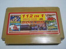 112 in 1 games ( ADVENTURE ISLAND, Super Mario )- Famicom Famiclone Nes Cartridg