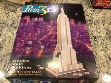 PUZZ 3D EMPIRE STATE BUILDING 902 PIECE PCS PUZZLE COMPLETE 1994 w/INSTRUCTIONS!