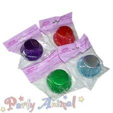 Culpitt Metallic CUPCAKE CASES -XMAS PARTY Set- Quality/Bun/Cup Cake/Muffin/Foil