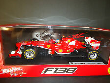 Hot Wheels Ferrari F138 Fernando Alonso 2013 1/18 BCK14