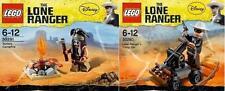 Lego Disney Lone Ranger Ranger + tonto 30260 + 30261