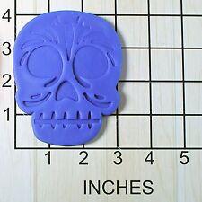 Calavera Sugar Skull Fondant Cookie Cutter AND Stamp #1569