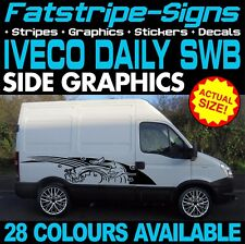 IVECO DAILY SWB GRAPHICS STICKERS STRIPES DECALS MOTORHOME CONVERSION CAMPER VAN